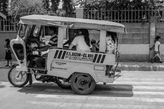 Mototaxi en Filipinas