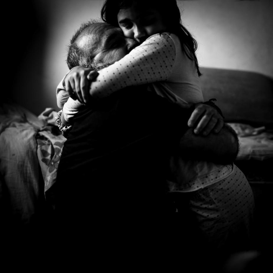 Abrazo de vida
