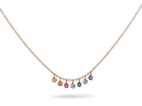 ANNA Necklace Rainbow
