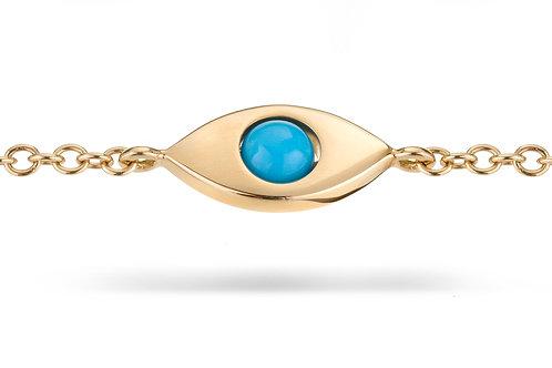 EyeBall Bracelet - Yellow Gold