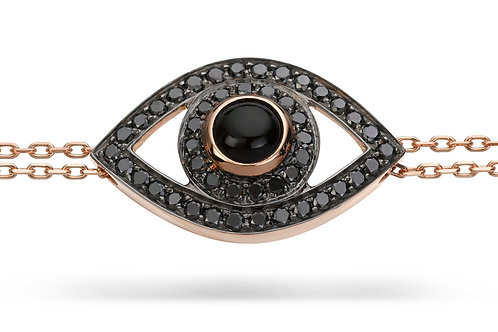 Eye Bracelet Black Diamond