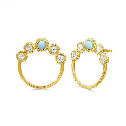 Gaby Turquoise Earrings
