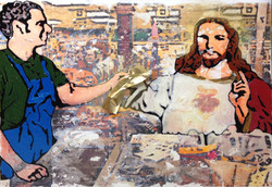 Jesus Saves at Harris Teeter (2015)