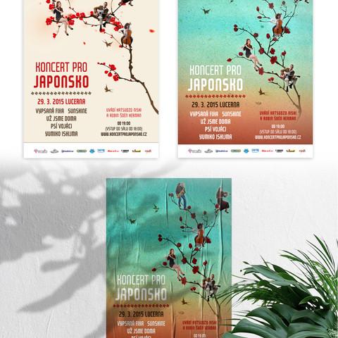 Poster on Concert for Japan