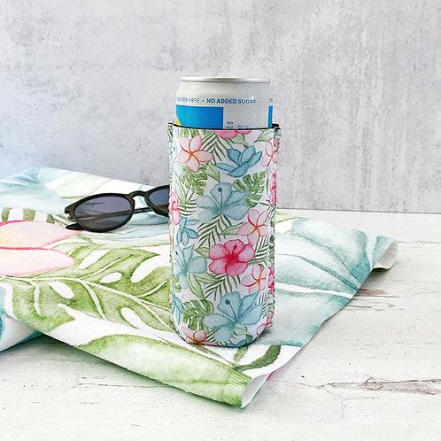 Tropical Art Summer Can Cooler