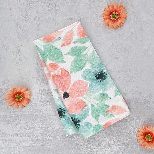 Spring Floral Dish Towel