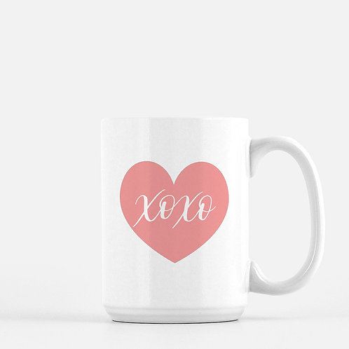 XoXo Coffee Mug - 15 ounce