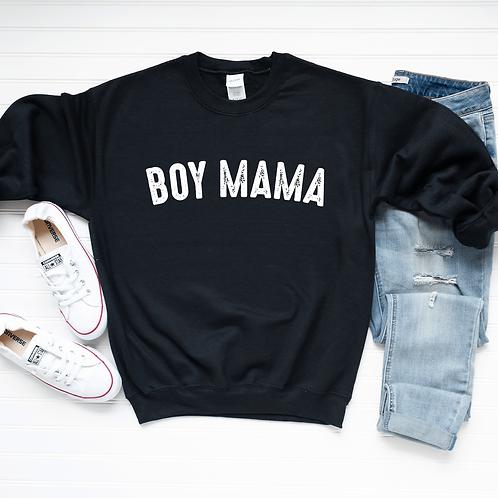 Boy Mama Crew Neck Sweatshirt