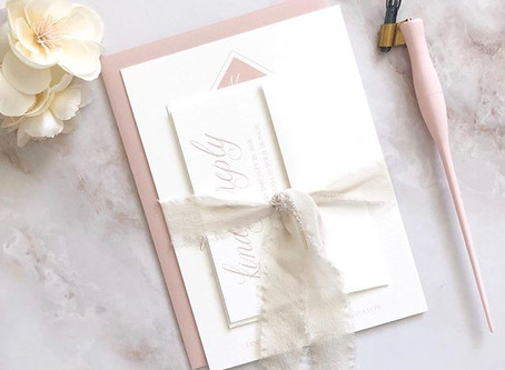 The Wedding Invitation Suite: What exactly do you need?