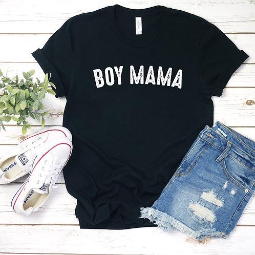 Boy Mama T-Shirt - Womens Shirt - Graphic Tee
