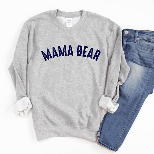 Mama Bear Sweatshirt - Gray - Unisex Sizing