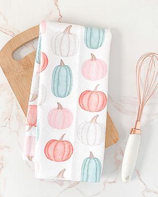 pumpkin-fall-dish-towel