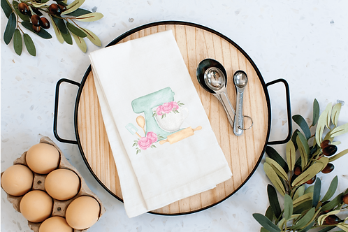 Cupcake Tea Towel for Kitchen Decor