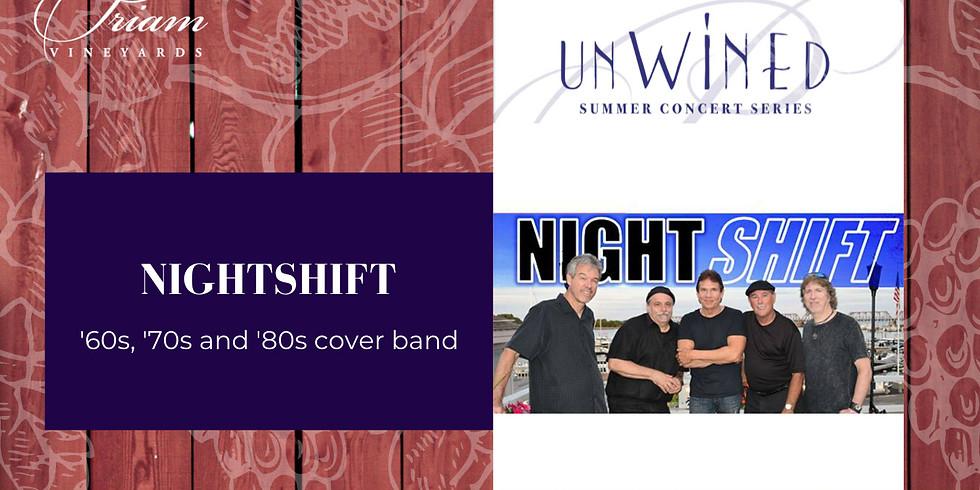 UnWINEd Concert: Nightshift