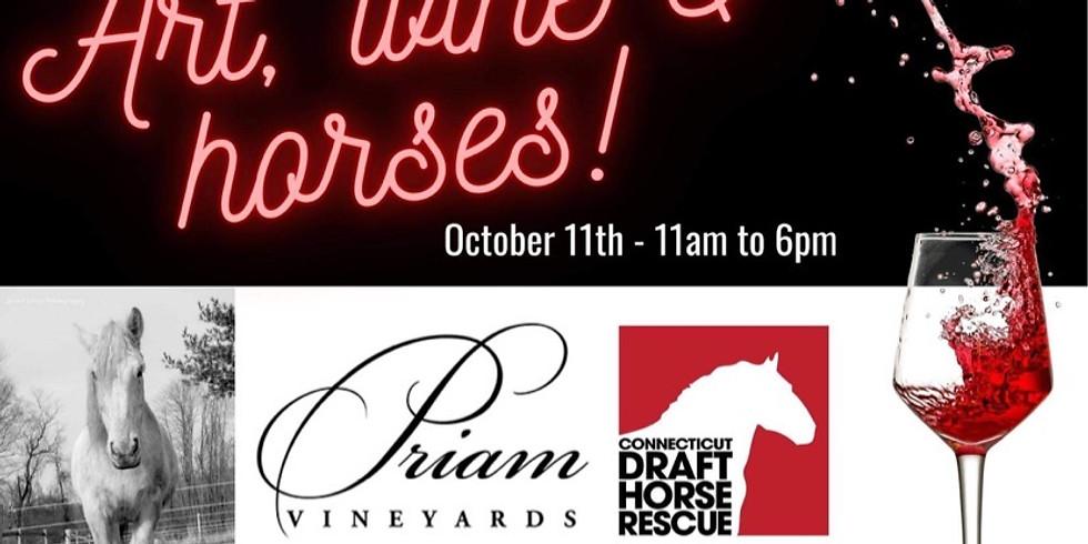 Art, Wine & Horses