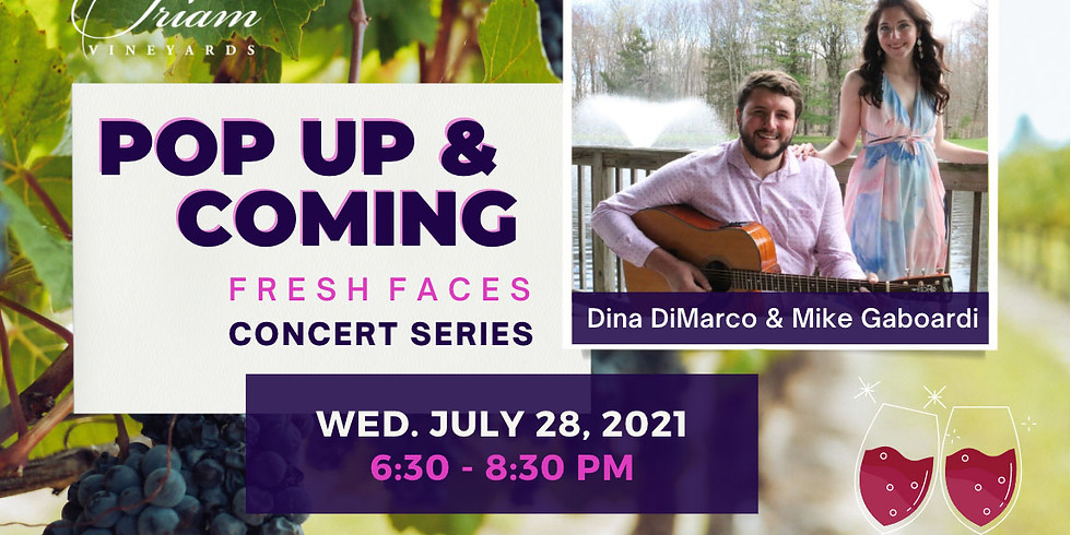 POP UP & COMING CONCERT: Dina DiMarco & Mike Gaboardi