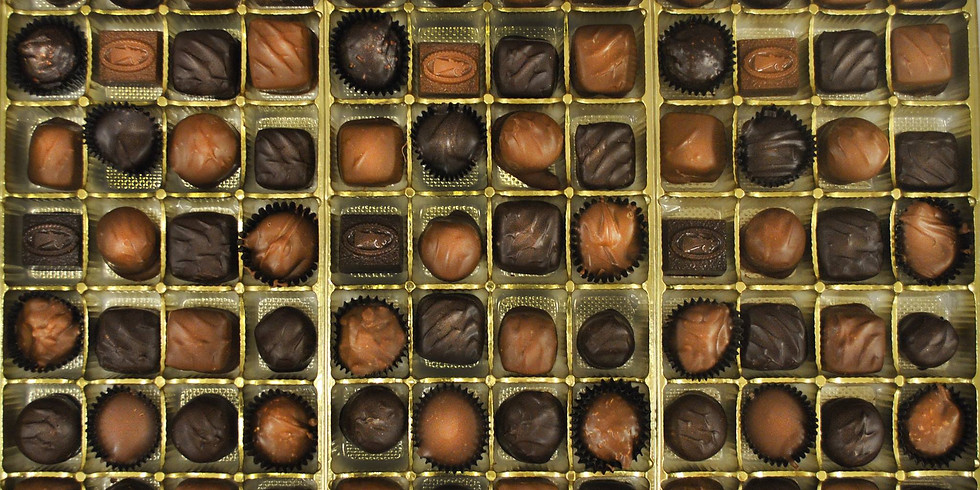 5 Chocolates & 5 Wines for $25