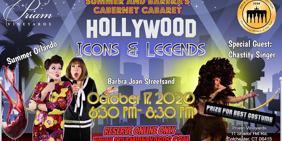 Cabernet Cabaret Hollywood Icons & Legends