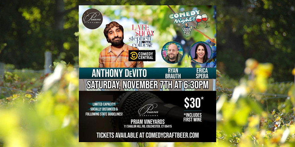Comedy Night - Outdoors at the Vineyard