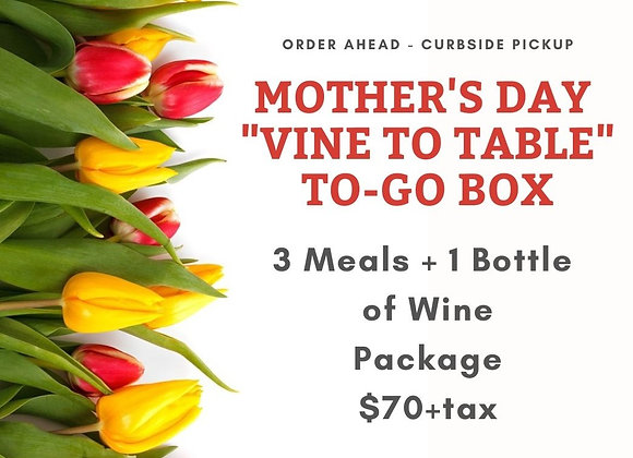 Mother's Day: Lunch for Three