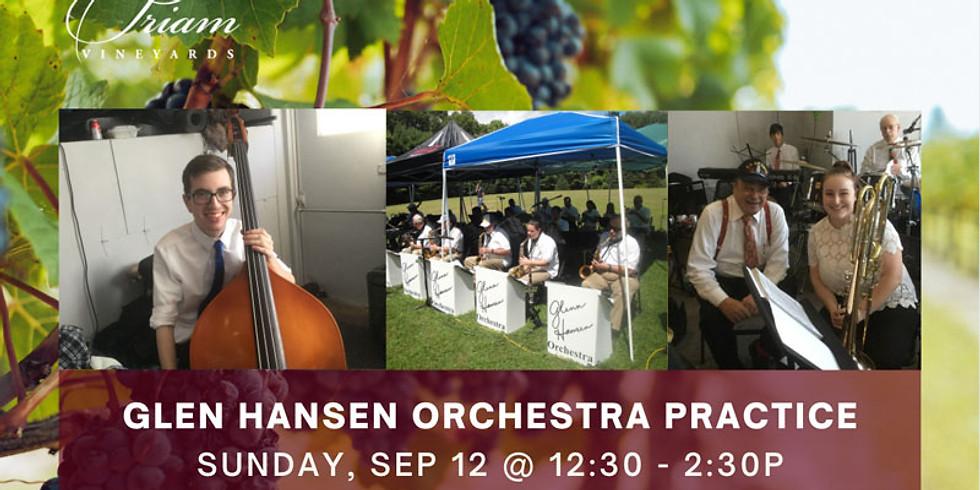 Glen Hansen Orchestra Practice