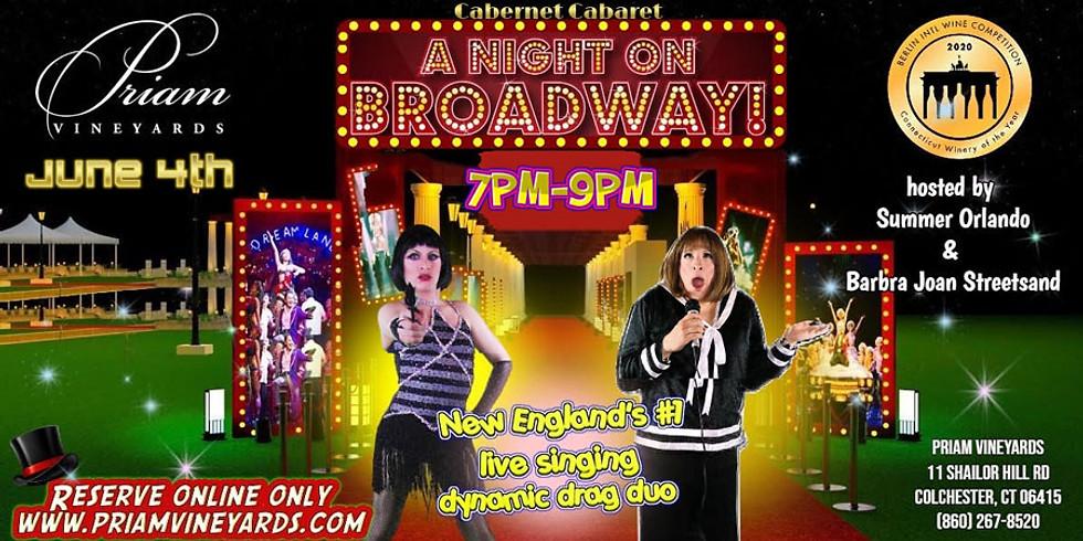 Cabernet Cabaret: A Night on Broadway
