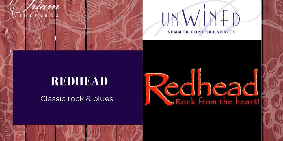 UnWINEd Concert: Redhead