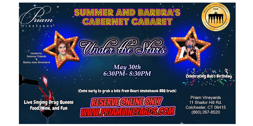 NEW DATE - Cabernet Cabaret!