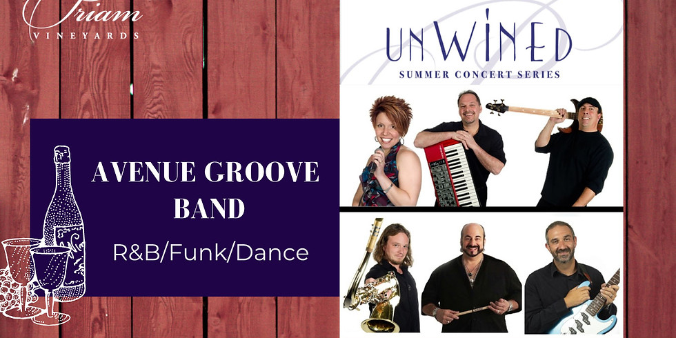 UnWINEd Concert: Avenue Groove Band