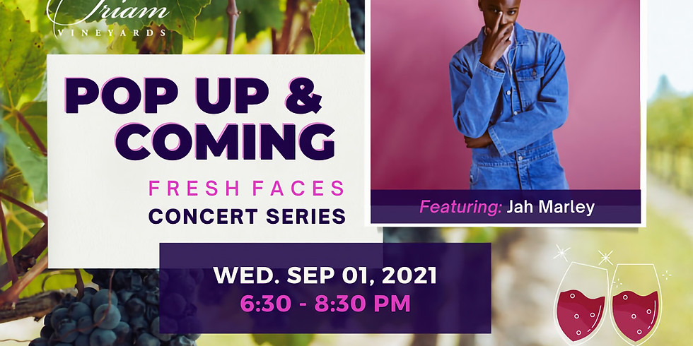 Pop Up & Coming Concert: JAH MARLEY
