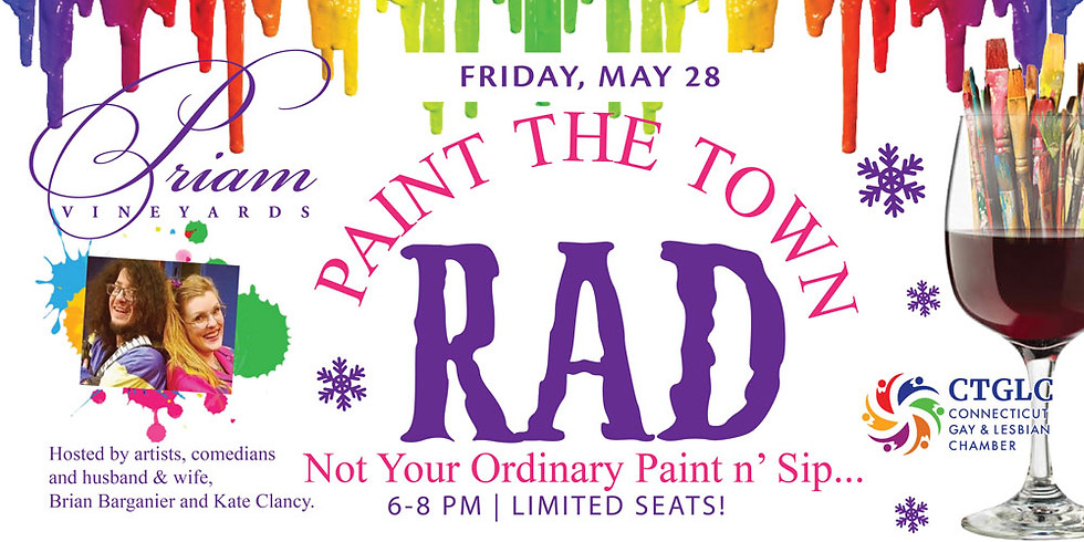 PAINT THE TOWN RAD!