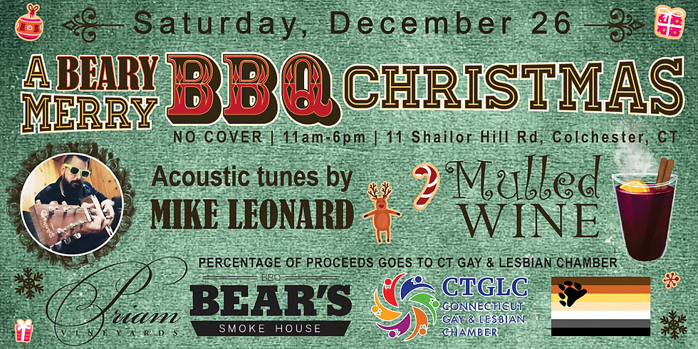 A Beary Merry Christmas with BEAR'S BBQ