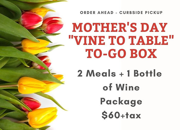 Mother's Day: Lunch for Two