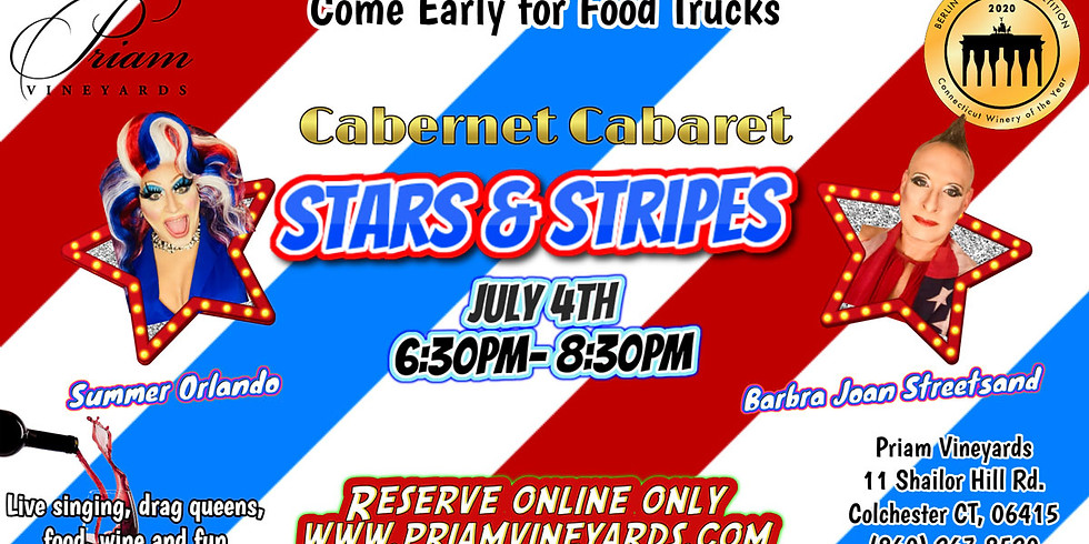 Cabernet Cabaret: Stars & Stripes