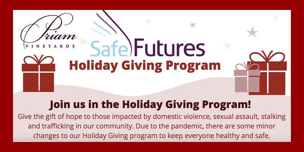 Safe Futures Holiday Drive | Family Code AH12