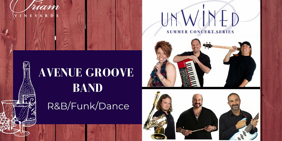 CANCELLED: Avenue Groove Band