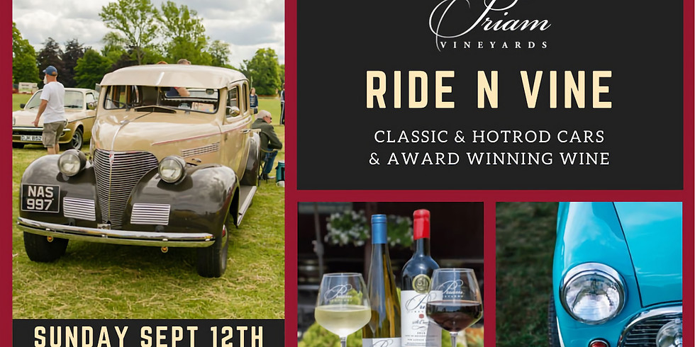 Ride n' Vine - Classic Car Show