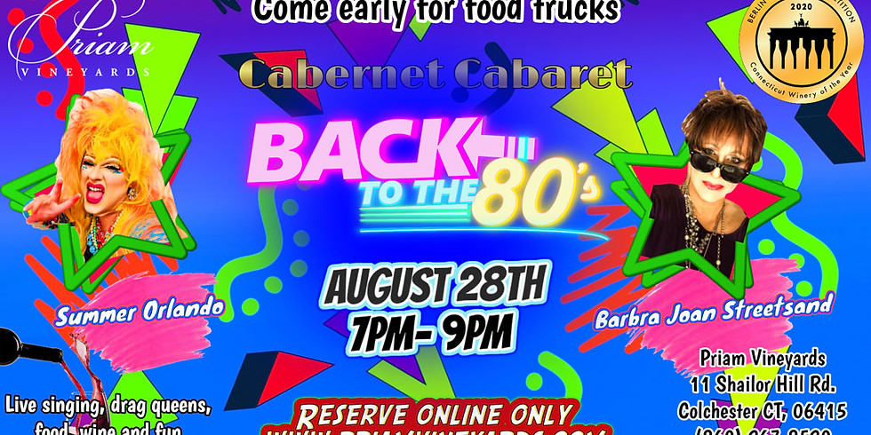Cabernet Cabaret: Back to the 80s