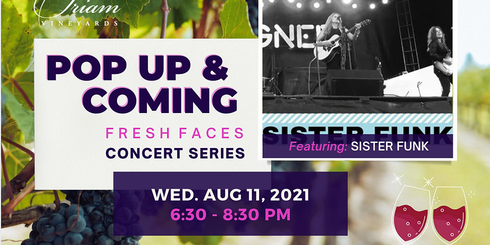 Pop Up & Coming Concert: SISTER FUNK