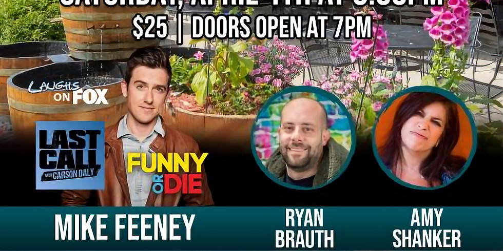 CANCELLED - Comedy Night - April 4th