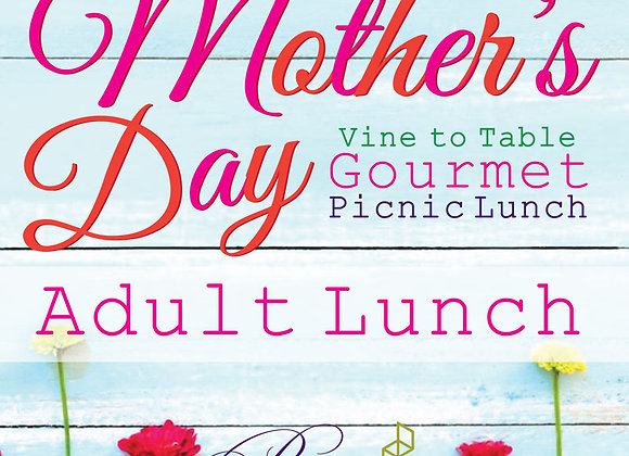 Mother's Day 2pm: Adult Lunch for One