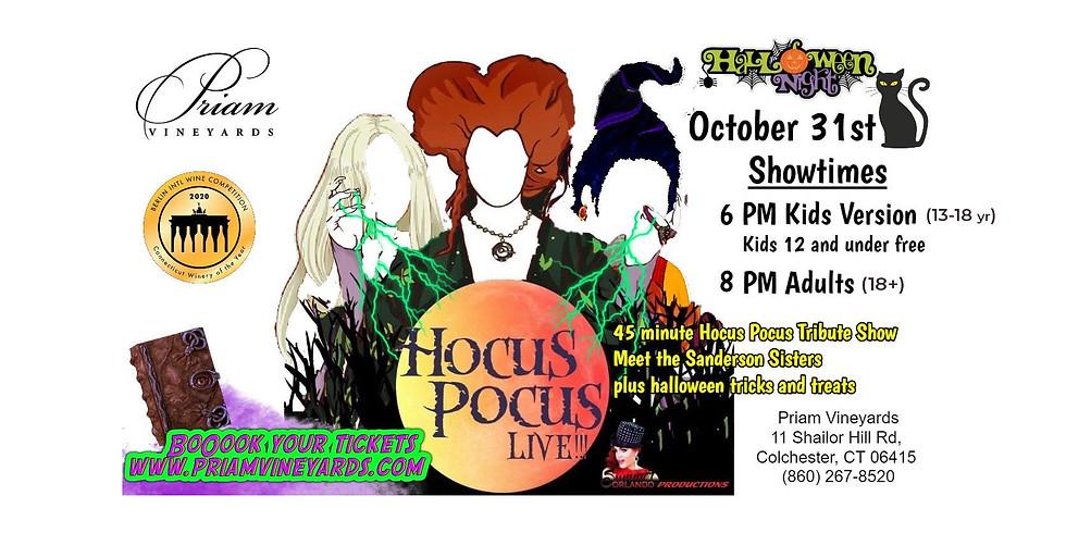 Cabernet Cabaret Hocus Pocus Live!