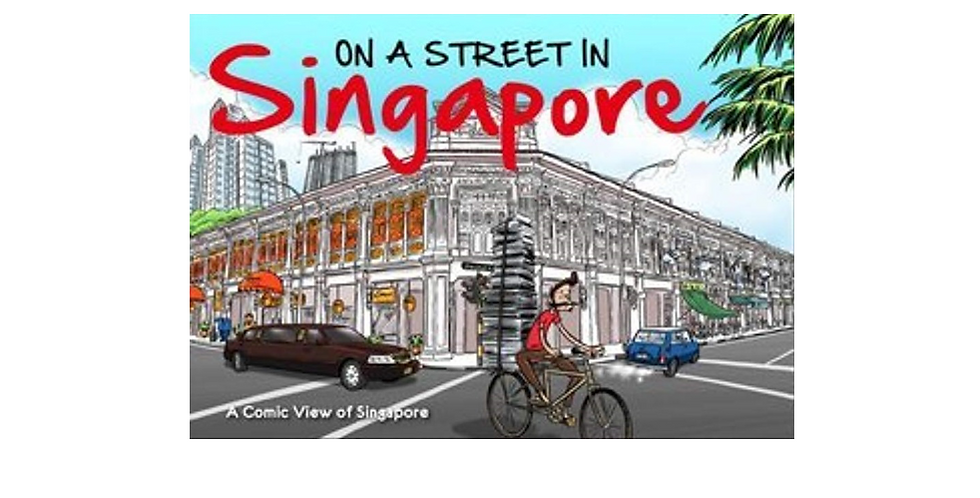 On a Street in Singapore
