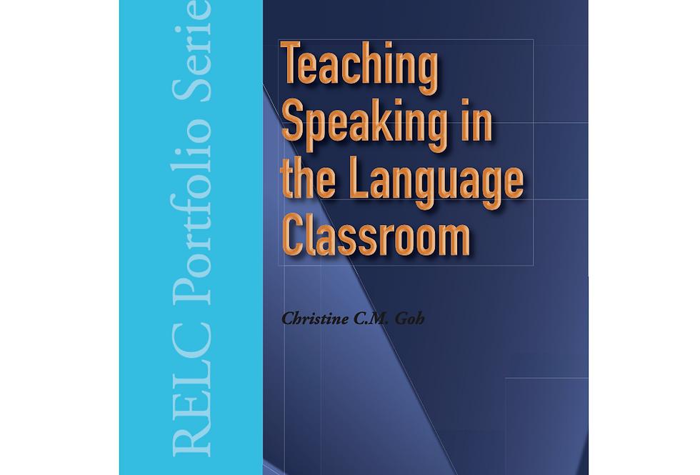 Teaching Speaking in the Language Classroom