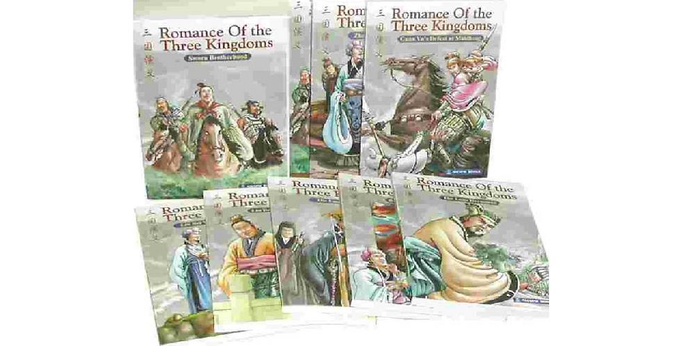 Romance of the 3 Kingdoms (1 set of 10)