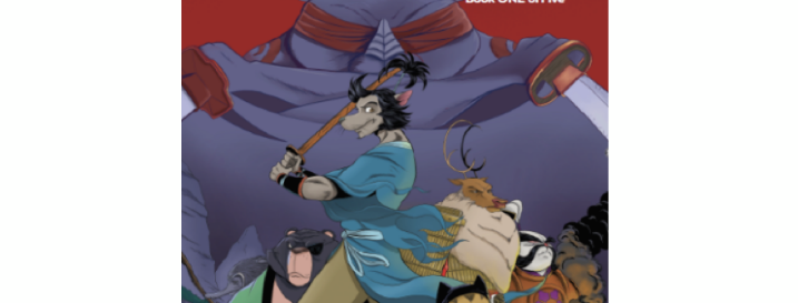 Ronin Rat & Ninja Cat. Book 1 of 5