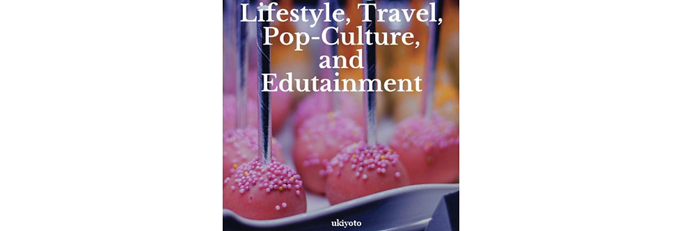 Book of lifestyle, travel, pop and edutainment