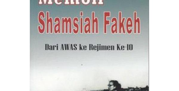 Memoir Shamsiah Fakeh