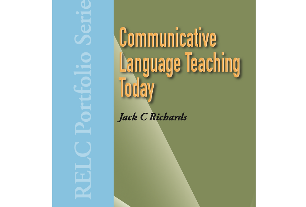 Communicative Language Teaching Today