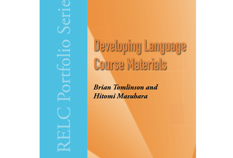 Developing Language Course Materials